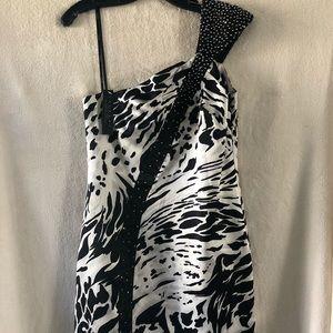 LAUNDRY Semi Formal Mini Dress